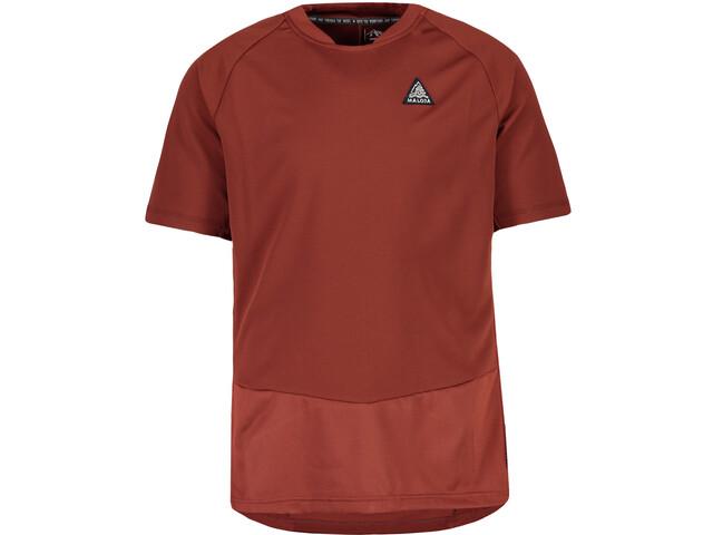 Maloja TtsM. T-shirt Herrer, maroon